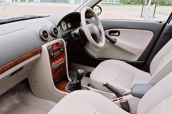 Интерьер салона rover 45 sedan