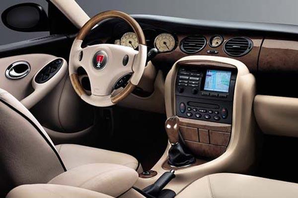 Интерьер салона Rover 75