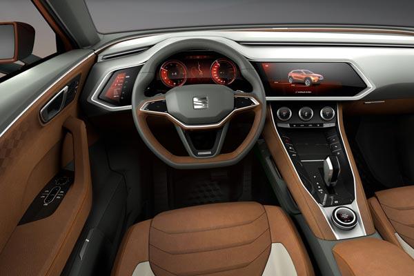 Интерьер салона SEAT 20V20 Concept