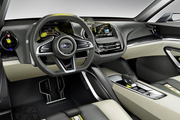 Интерьер салона Subaru VIZIV-2 Concept