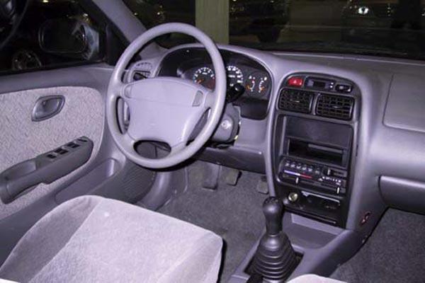 Интерьер салона Suzuki Baleno Sedan