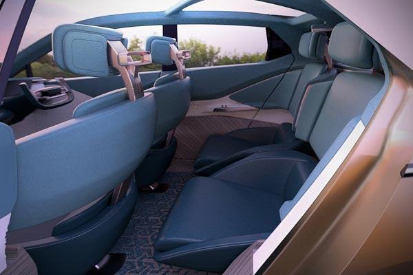 Интерьер салона Tata 45X Concept