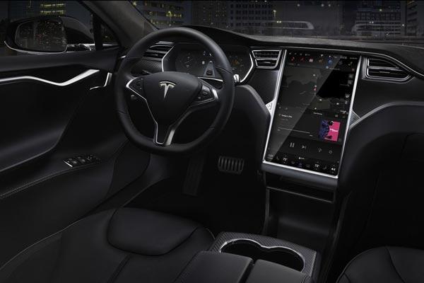 Картинки по запросу Tesla Model S салон