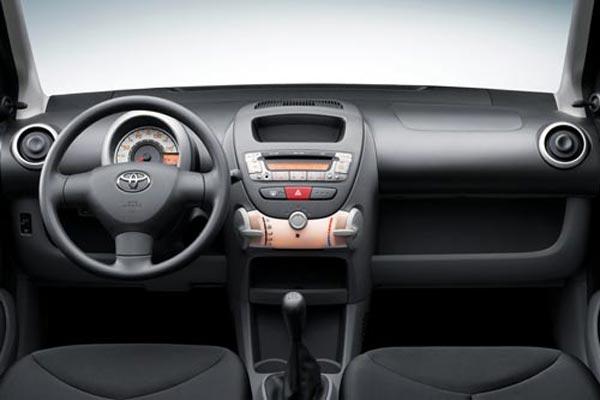 Интерьер салона Toyota Aygo