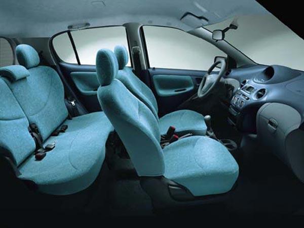 Интерьер салона Toyota Yaris