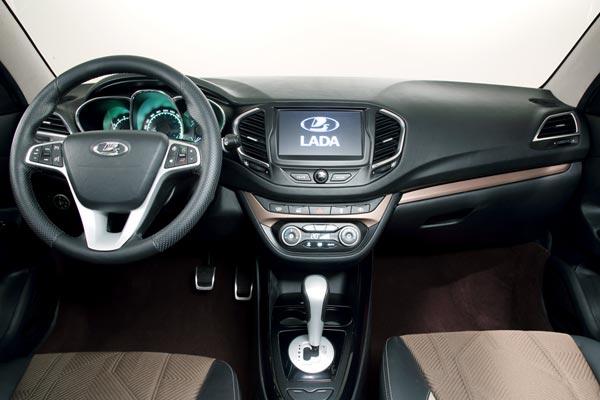 Интерьер салона Lada Vesta Concept