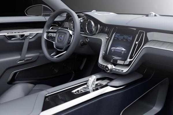 Интерьер салона Volvo Coupe Concept