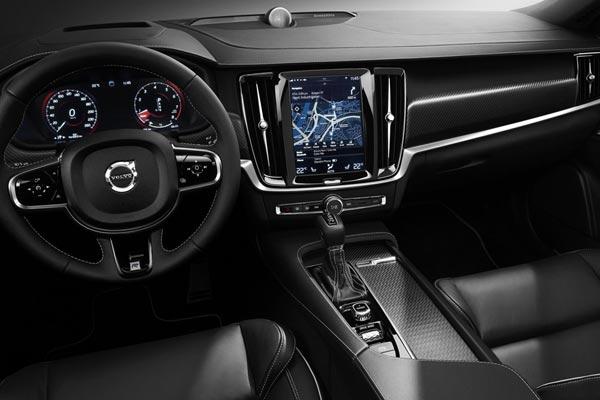 Интерьер салона Volvo S90 R-Design