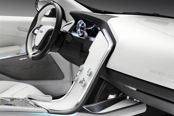 Интерьер салона Volvo XC60 Concept