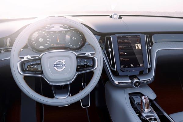 Интерьер салона Volvo Estate Concept
