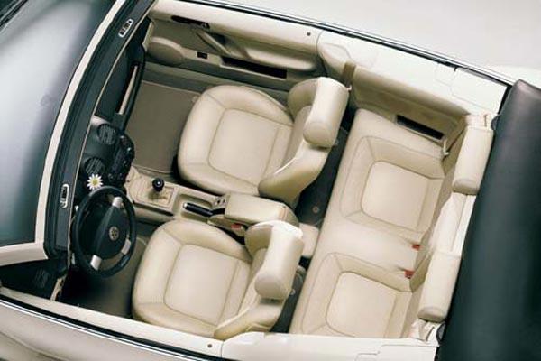 Интерьер салона Volkswagen Beetle Convertible