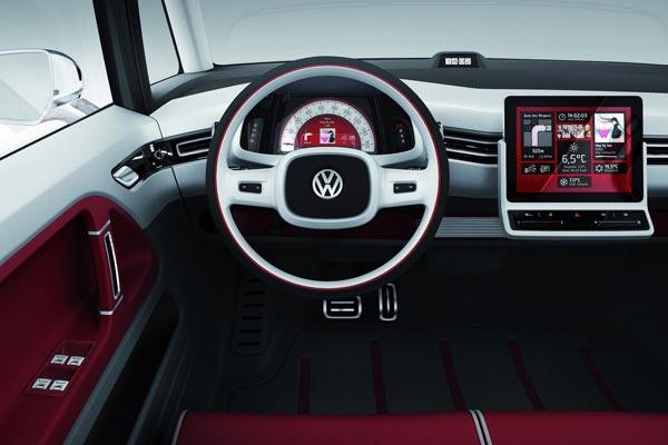 Интерьер салона Volkswagen Bulli Concept