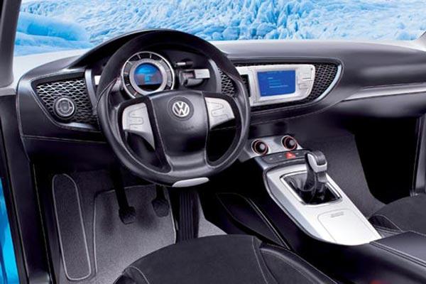 Интерьер салона Volkswagen Concept A