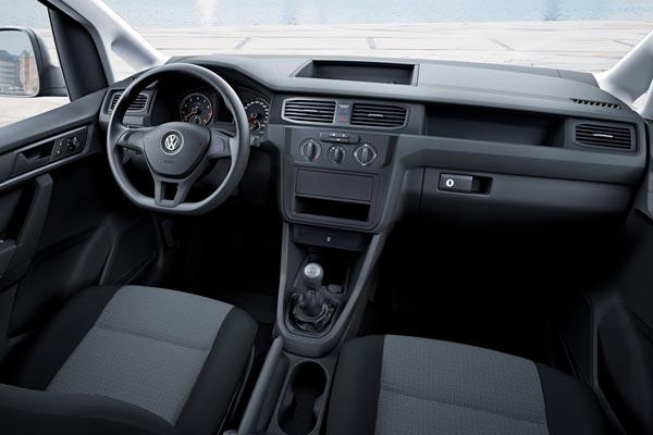 Интерьер салона Volkswagen Caddy