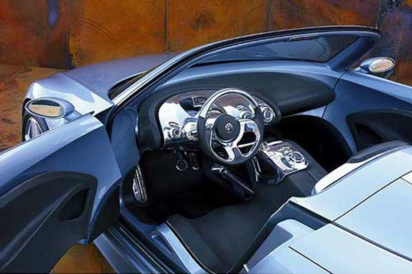Интерьер салона Volkswagen Concept R