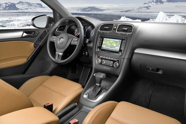 Интерьер салона Volkswagen Golf