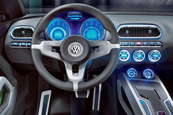 Интерьер салона Volkswagen IROC Concept