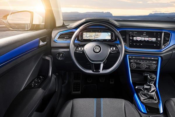 Интерьер салона Volkswagen T-Roc