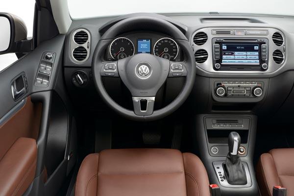 Интерьер салона Volkswagen Tiguan