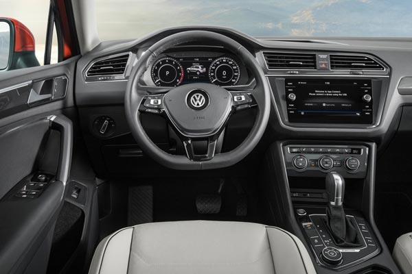 Интерьер салона Volkswagen Tiguan Allspace