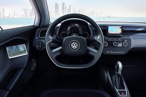 Интерьер салона Volkswagen XL1 Concept