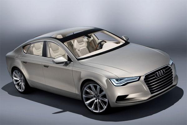 Sportback несет идею перспективного A7: безошибочно узнаваемый Audi.