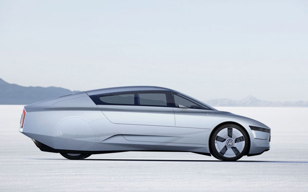 Аэродинамичный прототип будто замахивается на рекорд скорости…