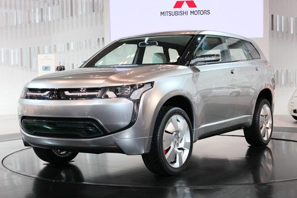 Mitsubishi PX-MiEV: полноприводный «гибрид» для России?