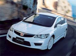 Honda Civic. Фото компании Honda