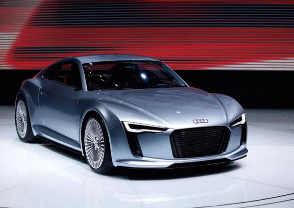 Еще один E-tron от Audi. Все ближе к серийному выпуску…