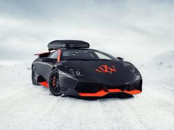 Lamborghini LP670-4 SV Winter Editon by Jon Olsson. Фото с сайта jon-olsson.com