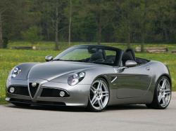 Родстер Alfa Romeo 8C с доработками Novitec. Фото Novitec