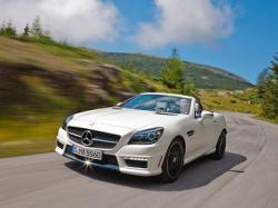 Mercedes-Benz SLK55 AMG. Фото Mercedes-Benz