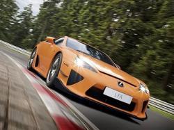 Lexus LFA Nurburgring Edition. Фото Lexus