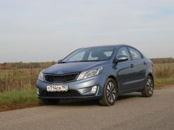 Kia Rio. Фото CarExpert.ru