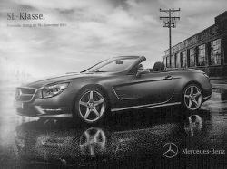 В Сети появились первые фотографии нового Mercedes SL
