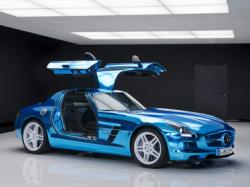 Mercedes-Benz SLS AMG Electric Drive. Фото Mercedes-Benz