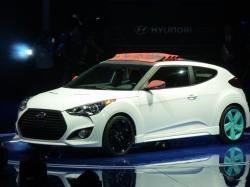 Новый Hyundai Veloster. Фото Hyundai