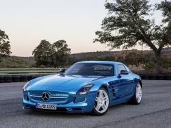 Mercedes-Benz SLS AMG Electric Drive. Фото Mercedes-Benz