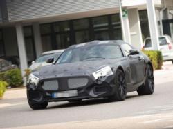 Прототип нового спорткупе Mercedes-Benz. Фото с сайта autobild.de