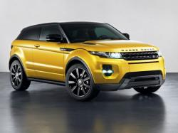Range Rover Evoque Sicilian Yellow Limited Edition. Фото Land Rover