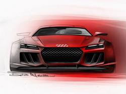 Audi привезет во Франкфурт мощный гибрид