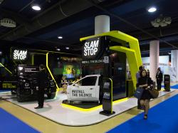 Стенд SLAMSTOP на выставке «Automechanika Moscow powered by MIMS»