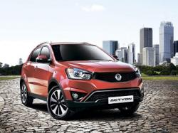 SsangYong Actyon. Фото SsangYong