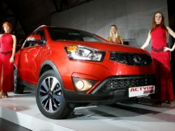 SsangYong Actyon Red Line. Фото SsangYong