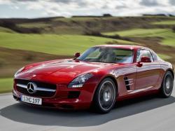 Mercedes SLS. Фото Mercedes