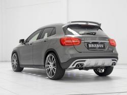 Mercedes-Benz GLA Brabus. Фото Brabus