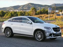 Mercedes-Benz GLE Coupe. Фото с сайта autoevolution.com