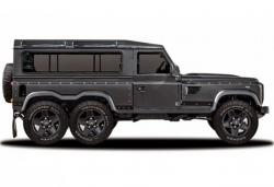 Flying Huntsman 110 WB 6×6 Concept. Фото Kahn Design