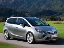 Opel Zafira. Фото Opel